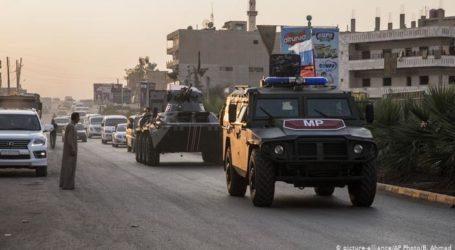 "Pasukan Turki-Rusia Mulai Patroli Bersama di ""Zona Aman"" Suriah"