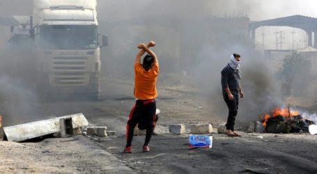 Demonstran Irak Tutup Jalan ke Pelabuhan Utama Umm Qasr