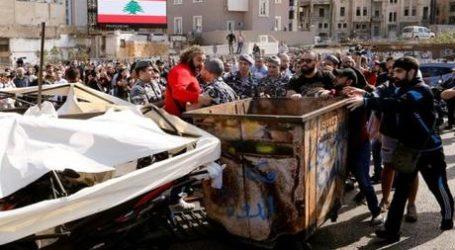 Demonstran Tetap Turun ke Jalan Setelah Diserang Hizbullah dan AMAL