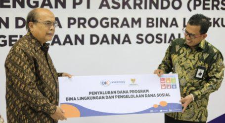 Askrindo Gandeng Baznas Kelola Dana Sosial dan Bina Lingkungan
