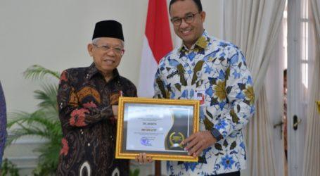 DKI Jakarta Terima Penghargaan dari Komisi Informasi Pusat RI