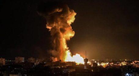 Serangan Udara Israel Lukai Tiga Warga Sipil Palestina