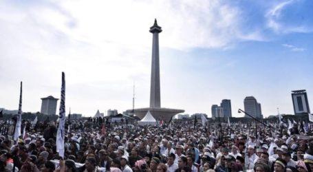 Doa Massa Reuni 212: Pulangkan Habib Rizieq, Jaga Para Pemimpin Kami