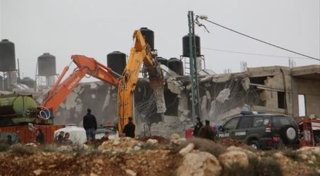Israel Hancurkan Rumah Warga Palestina di Yerusalem