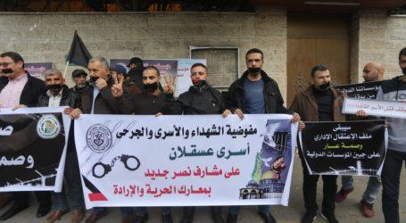 Warga Gaza Lakukan Protes Diam-Diam untuk Dukung Para Tahanan