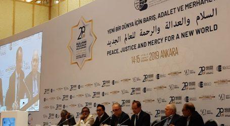 Konferensi Internasional Umat Islam di Ankara Bahas Konflik Bangsa Muslim