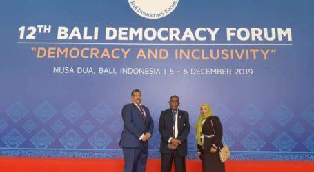 KBRI Khartoum Fasilitasi Partisipasi Sudan pada Bali Democracy Forum ke-12