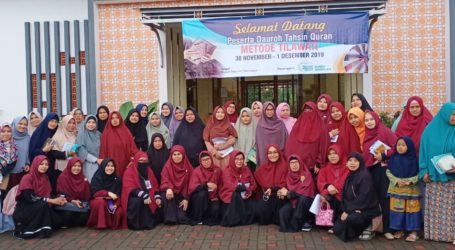 Muslimat Wilayah Jawa Barat Gelar Dauroh Tahsin Quran Metode Tilawati