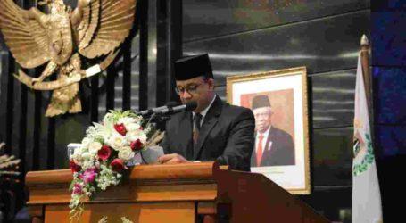 Disetujui DPRD, Anies Terima Raperda APBD DKI Jakarta 2020