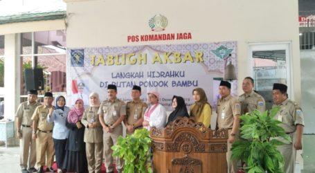 PB Al Irsyad Gelar Tabligh Akbar di Rutan Wanita Pondok Bambu