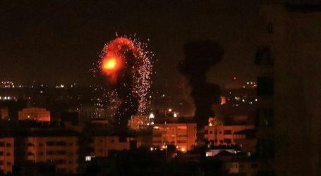 Pesawat Israel Lancarkan Serangan Udara di Jalur Gaza