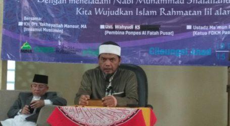 Ustaz Wahyudi: Hidup Tanpa Pemimpin Cenderung Mengikuti Syaitan
