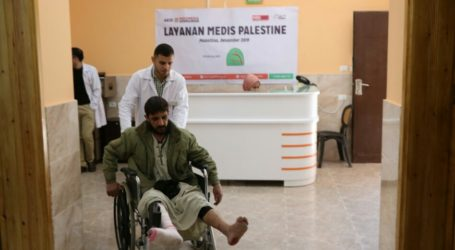 Hampir Seribu Warga Gaza Berobat ke Klinik Indonesia