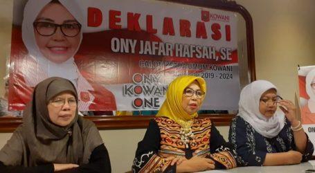 Jadi Caketum Kowani, Ony Jafar Hafsah Janjikan Kembangkan Ekonomi Syariah