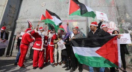 Israel Hanya Izinkan 55 Orang Kristen Gaza Rayakan Natal di Yerusalem