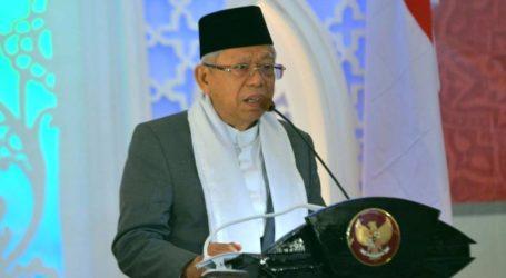 Ma'ruf Amin: Para Khatib Harus Berupaya Bangun Narasi Kerukunan Dalam Khutbah
