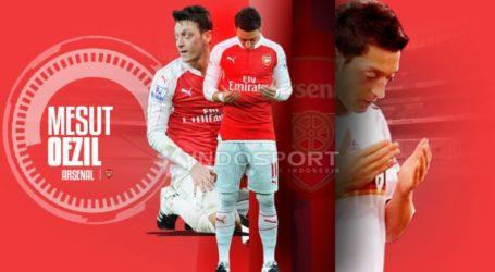 Arsenal Lepas Diri dari Unggahan Twitter Ozil tentang Uighur