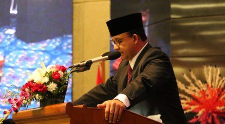 Anies Serahkan Raperda APBD DKI Jakarta 2020
