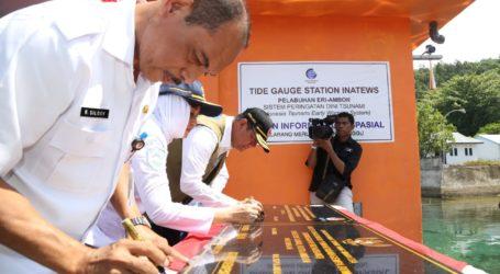 Pemerintah Resmikan Sistem Peringatan Dini Tsunami di Ambon