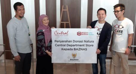Central Department Store Serahkan Donasi Rp 587,8 Juta Lewat BAZNAS
