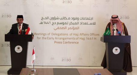 Menag RI – Menteri Haji dan Umrah Saudi Bahas Masalah Haji