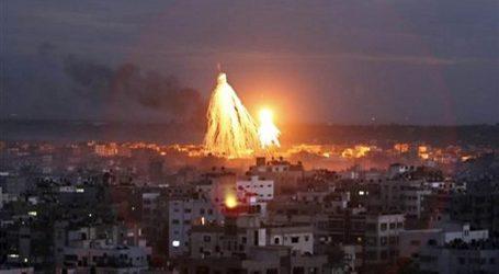 Rudal Gaza Serang Israel, Pesawat Tempur Israel Balas