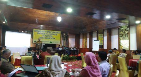 Survei Kemenag : Indeks Kepuasan Pelayanan Haji Indonesia 2019 Memuaskan