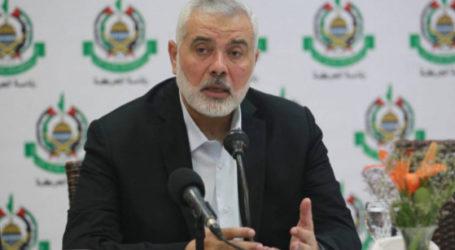 Haniyah: Perlawanan Palestina Tidak Akan Goyah Hadapi Israel dan AS