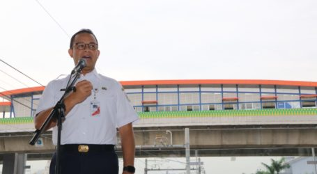 Anies Canangkan Pembangunan Fasilitas Integrasi Halte TransJakarta dan MRT
