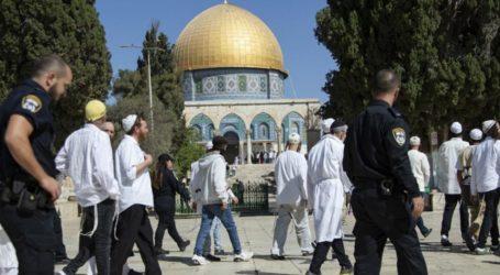 Sekitar 29.610 Penduduk Zionis Yahudi Nodai Masjid Al-Aqsha Selama 2019