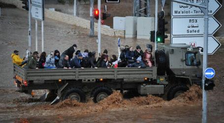 Banjir Nahariya, Israel Tewaskan Seorang Pria