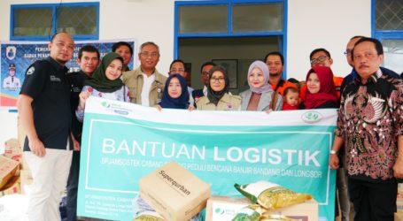 RZ bersama BPJS Salurkan Bantuan untuk Korban Banjir