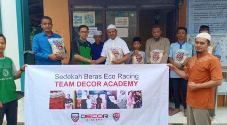 Eco Racing Sedekah Beras Kepada Ponpes Al-Fatah Cileungsi