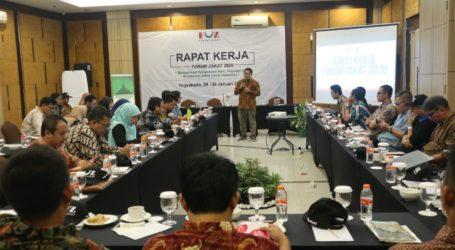 Rapat Kerja FOZ di Yogyakarta Bahas Pengentasan Kemiskinan dan Bencana