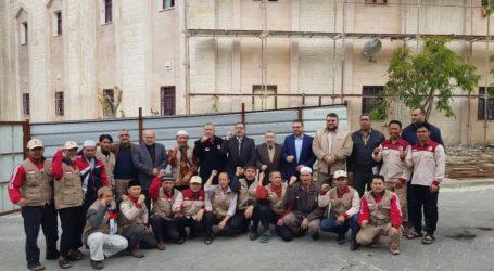 Hamas Apresiasi Keberadaan Relawan Pembangunan RS Indonesia di Gaza