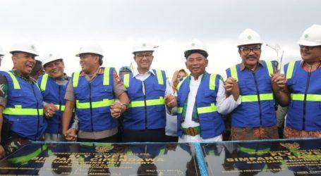 Anies Resmikan Dua Jalan Layang Kolaborasi Pemkot Bekasi dan Pemprov DKI