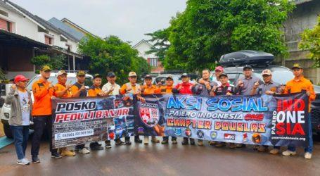 UAR Jabodetabek Banten Gandeng Komunitas Pajero Indonesia Salurkan Bantuan