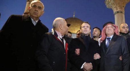 Presiden Perancis Kunjungi Al-Aqsa