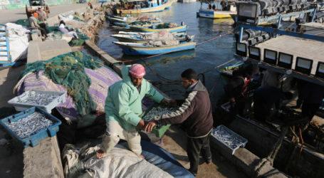 Israel Kurangi Area Penangkapan Ikan di Laut Gaza Jadi 8 Mil