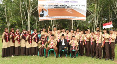 Gudep Pramuka Shuffah Hizbullah dan Madrasah Al-Fatah Lampung Dikukuhkan