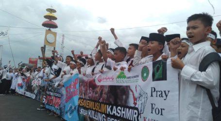 AWG Lampung Gelar Aksi Dukung Muslim Uighur