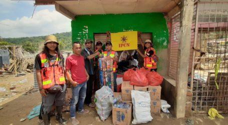 Pengusaha Cargo Salurkan Bantuan Bencana Jasinga dan Lebak