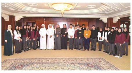 """Bank QIIB Adakan """"Hari Profesional"""" untuk Mahasiswa Qatar"""