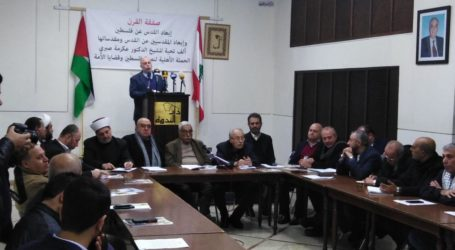 Yassine Hammoud: Tidak Sebutir Debu Palestina-pun Akan  Diserahkan pada Kesepakatan