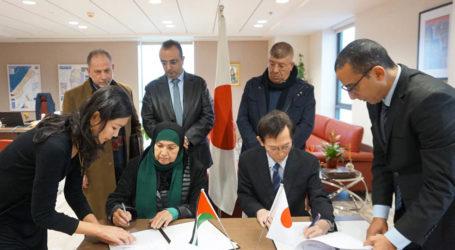 Jepang Tandatangani Hibah Empat Proyek di Palestina