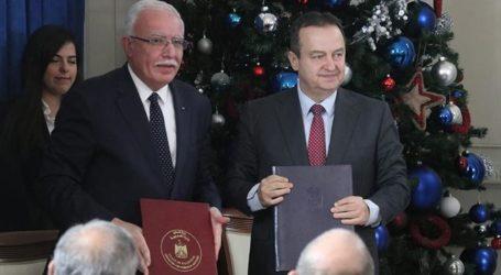 Serbia-Palestina Tandatangani Kerjasama Keamanan
