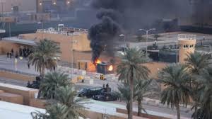 Tiga Roket Hantam Kedubes AS di Baghdad
