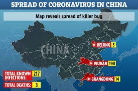 Virus Menular Corona Baru Menyebar Cepat di China