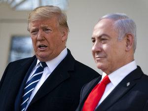 "Bertemu Netanyahu, Trump Yakin Rencana Perdamaiannya Punya ""Peluang"""