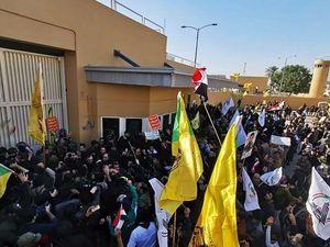 Demonstran Tinggalkan Kedutaan AS di Baghdad